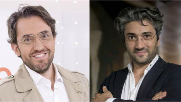 Màxim Huerta (izquierda) y David Afkham (derecha)