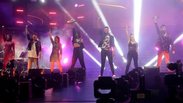 Un momento del concierto, celebrado en el WiZink Center de Madrid