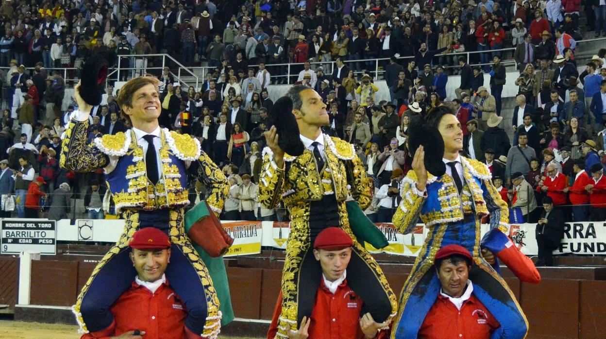 El Juli, Bolívar y Roca Rey engrandecen la Fiesta en Bogotá