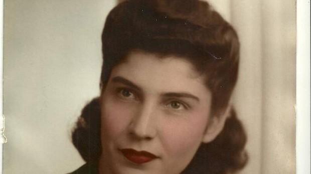 Helen Waldstein Wilkes en una foto de juventud