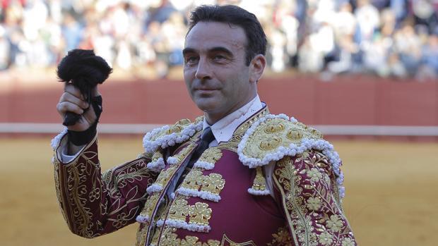 Enrique Ponce, el pasado año en Sevilla