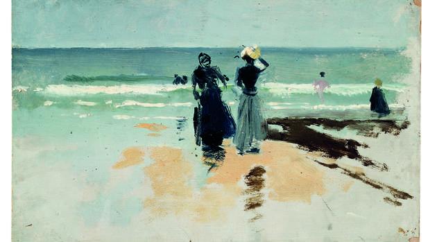 «Playa de San Sebastián», 1900-1901. Museo Sorolla