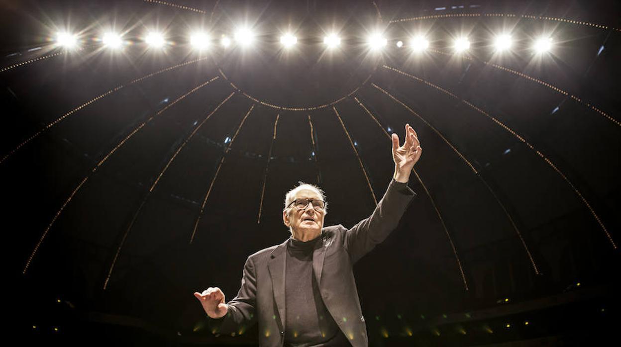 Ennio Morricone actuará por primera vez en España en un concierto histórico