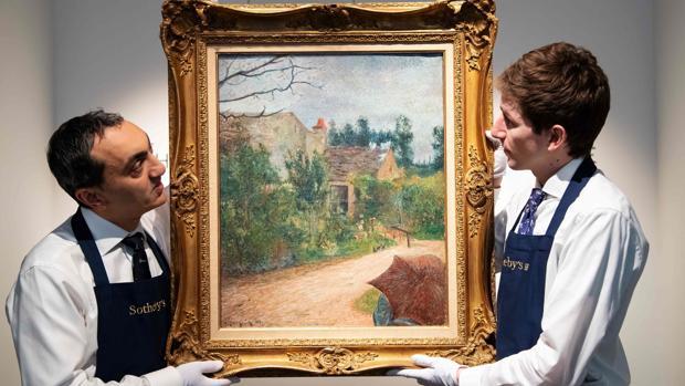 «El jardín de Pissarro», de Paul Gauguin