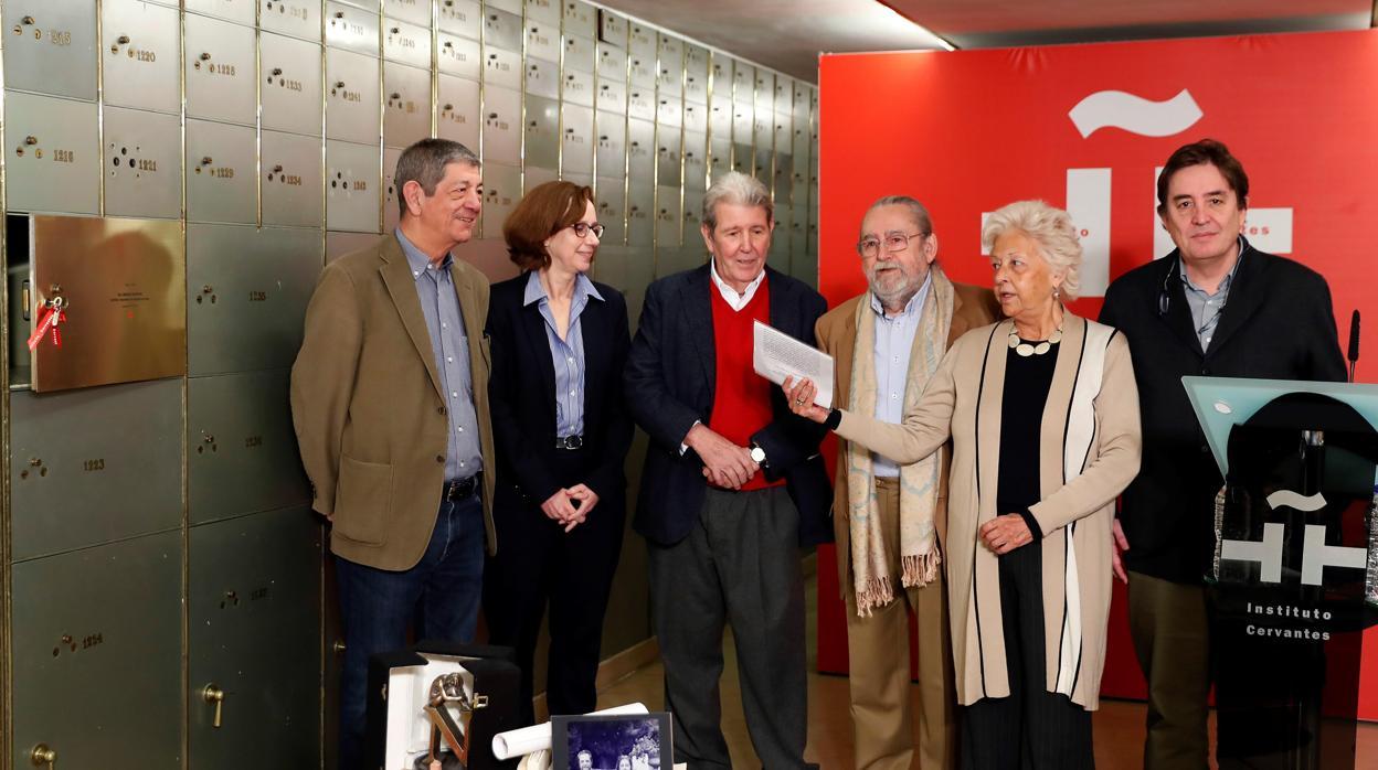 El legado de cuatro grandes editores, en la Caja de las Letras