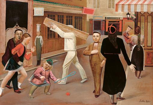 «La calle» (1933), de Balthus