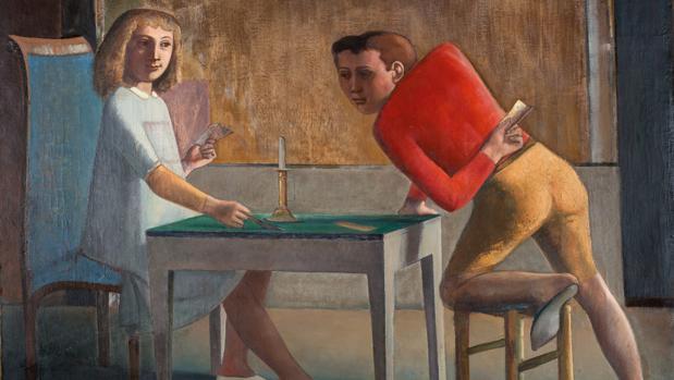 «La partida de naipes» (1948-1950)