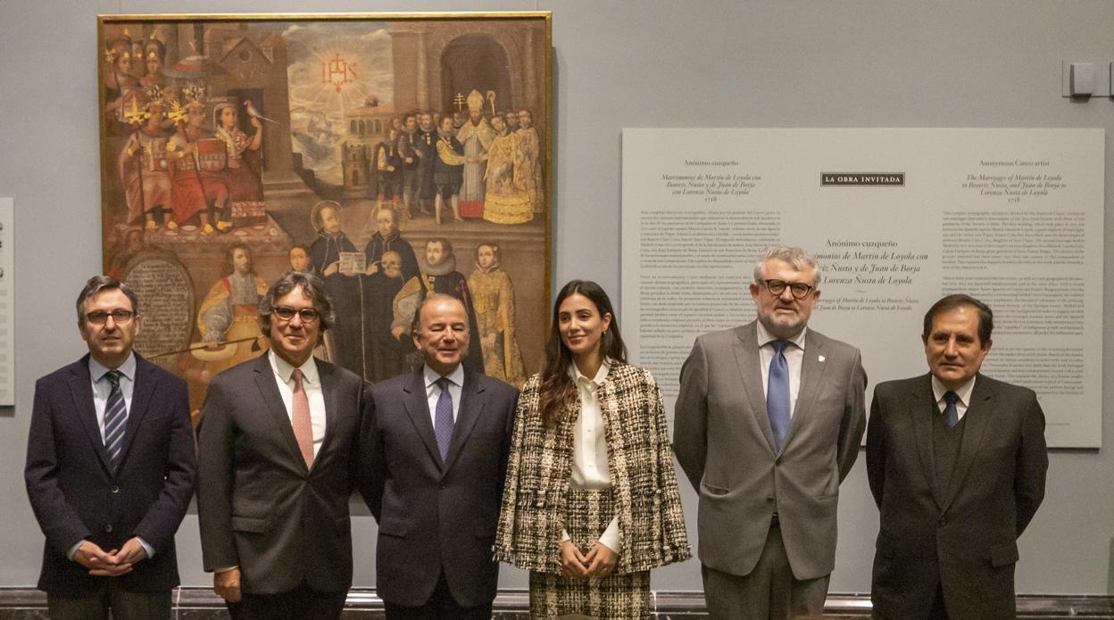 Un tesoro virreinal de Perú visita el Prado