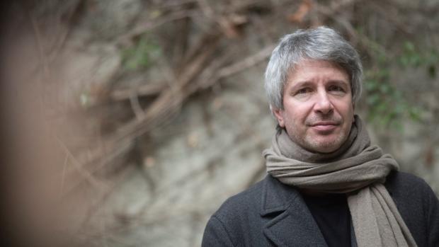 El escritor y cineasta francés Éric Vuillard, ayer en Barcelona