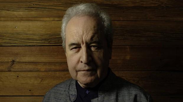 John Banville fotografiado durante su reciente visita a Madrid