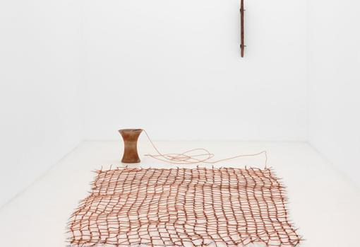 «Toma de tierra», obra de Ximena Garrido-Lecca, que podrá disfrutarse en el estand de Casado Santapau