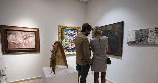 Galería Montenegro en la feria Salón de Arte Moderno