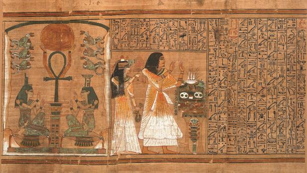 Pasaje de «El Libro de los Muertos. El Papiro de Ani»
