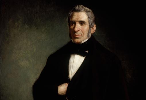 Retrato de Agustín Argüelles, presidente del Congreso durante el traslado al Teatro de Oriente