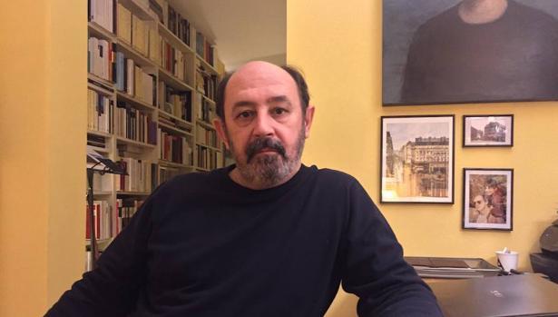 El escritor vallisoletano, afincado en Madid, Adolfo García Ortega