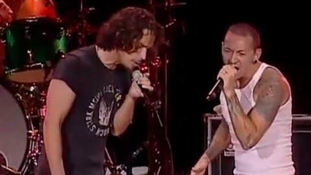 Chris Cornell y Chester Bennington compartieron escenario antes de suicidarse