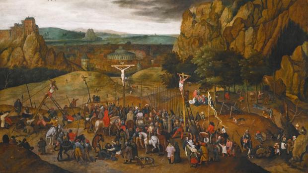 «La crucifixión de Jesús», de Pieter Brueghel el Joven