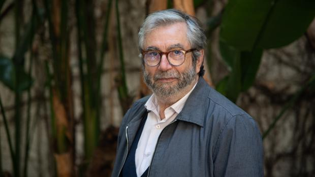 Antonio Muñoz Molina, fotografiado en Barcelona