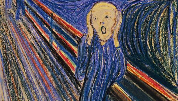 «El grito», de Munch