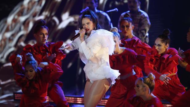 Actuación de la cantante en los Grammy del año pasado celebrados en Nevada