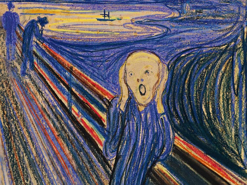 Munch se inspiró en una momia peruana para pintar la figura central de «El grito»
