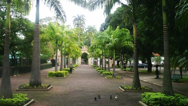 Entrada a la Quinta de Boa Vista, en el zoológico de Río de Janeiro