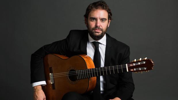 El guitarrista Dani de Morón