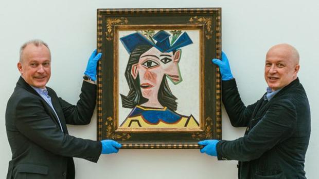 «Busto de mujer con sombrero» (1939), de Picasso