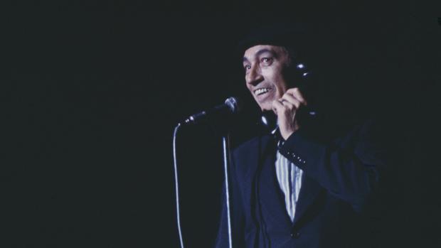 Miguel Gila, durante una actuación