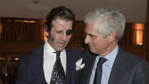 Adolfo Suárez, con Juan José Padilla