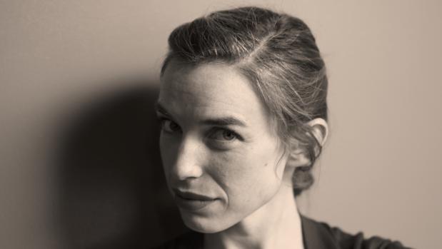 La poeta Violeta Gil