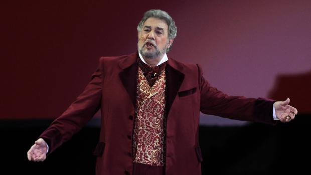 Plácido Domingo, en la «Antología de la Zarzuela»