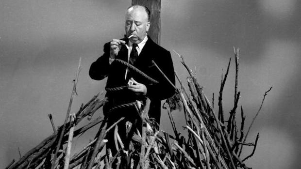 Hitchcock, genio y figura hasta en la hoguera
