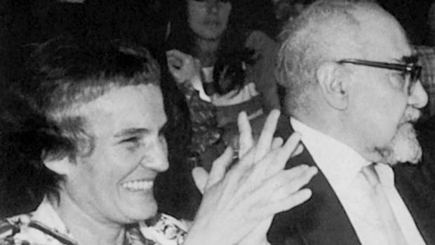 Carmen Laforet y Ramón J. Sender