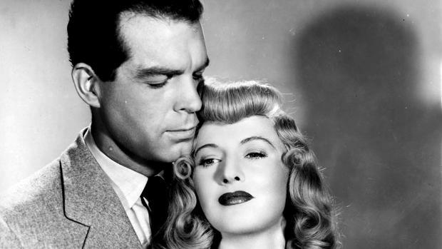 Fred MacMurray y Barbara Stanwyck en «Perdición»