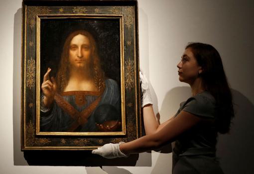 La obra «Salvator Mundi», atribuida a Leonardo, fue vendida a un príncipe saudí por 450 millones de dólares