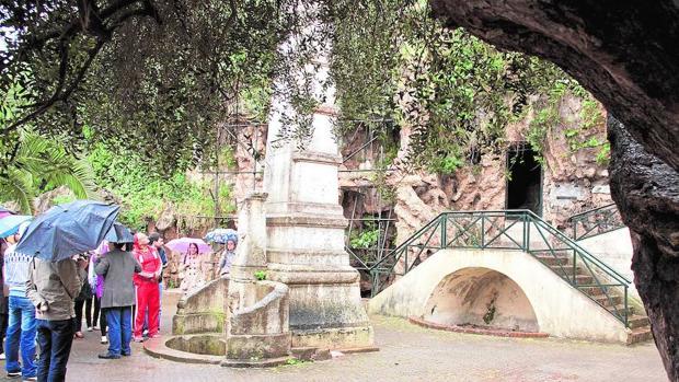 La gruta donde Cervantes se ocultó durante una fuga en 1577