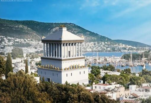 Mausoleo en Halicarnaso