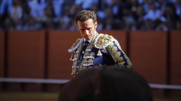 Antonio Ferrera, en la Maestranza
