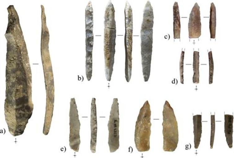 Hallan herramientas de caza de hace 40.000 años en una cueva en Tarragona