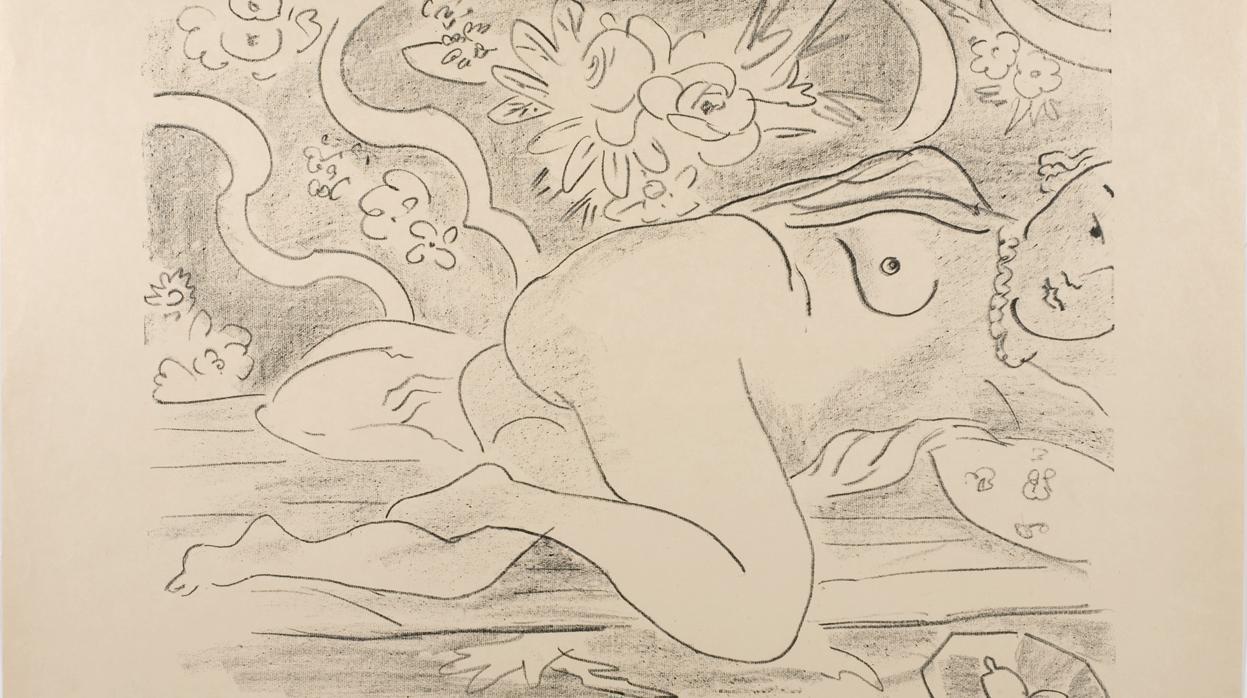 Matisse grabador y en blanco y negro, en su 150 aniversario
