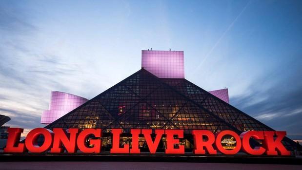Salón de la Fama del Rock and Roll en Cleveland