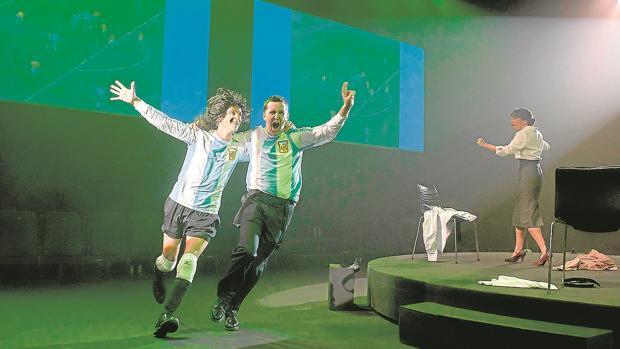 Ernesto Alterio y Juan Vinuesa, en «Shock (El Cóndor y el Puma)»