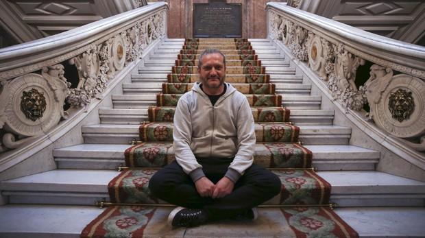 Darío Sztajnszrajber en el Palacio de Linares (Madrid), sede de Casa de América