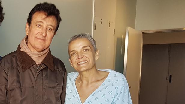 Manolo García junto a María Eugenia Sánchez