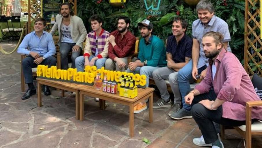 Wegow y Schweppes presentan Yellow Plans, la alternativa musical más fresca para este verano
