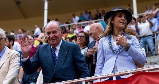 Do Juan Carlos y la Infanta Elena