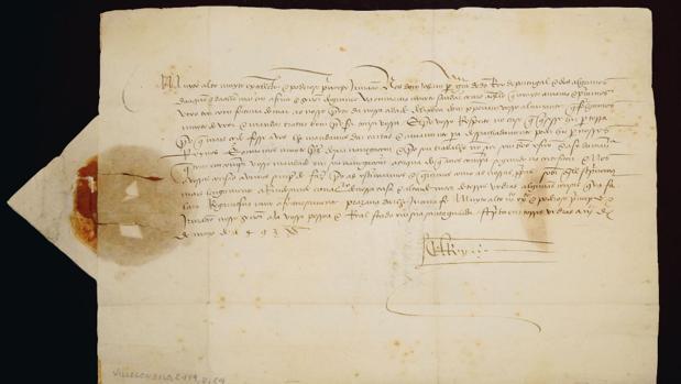 Encuentran la primera carta que informó del regreso de Colón tras descubrir América