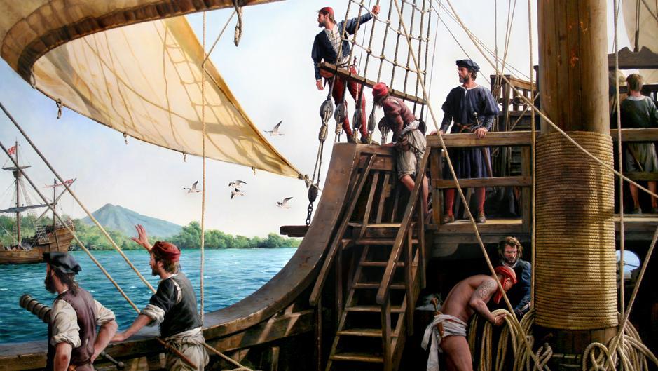 En vídeo: «Fuimos los Primeros», la instantánea que evoca la gesta de Elcano