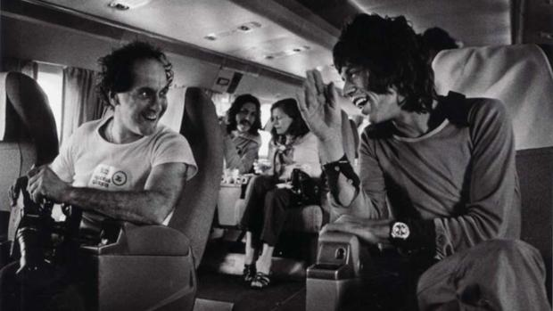 Orgías, drogas y rock and roll: el salvaje mano a mano entre Robert Frank y los Rolling Stones